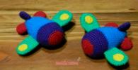como hacer aviones con lana