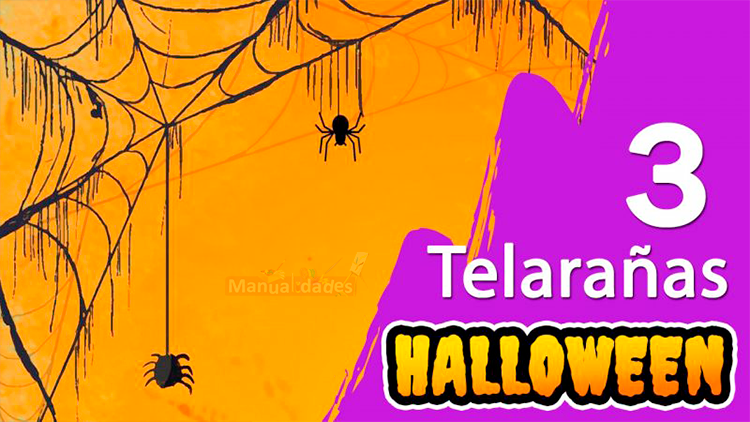 telarañapara halloween