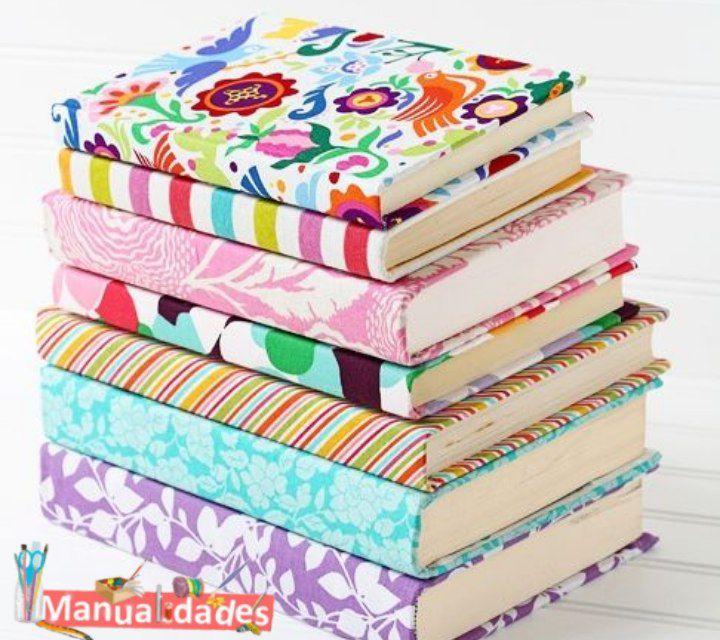 Forrar libros con papel