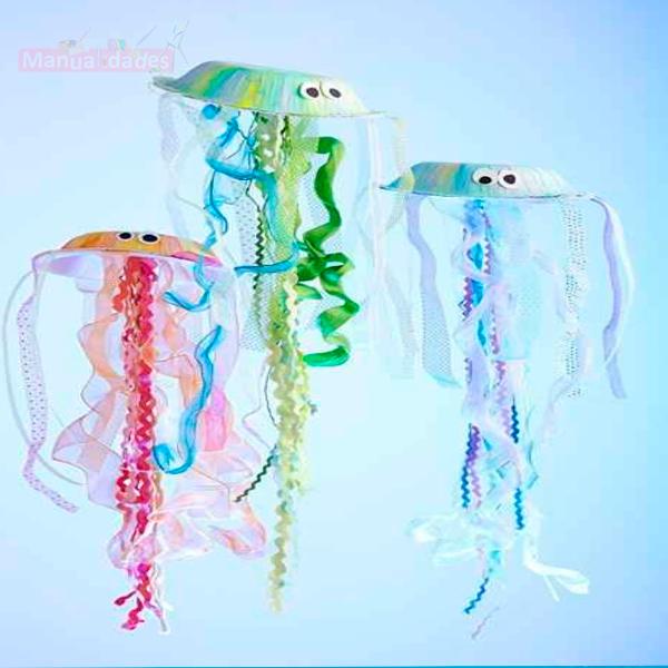manualidades de medusa para niños