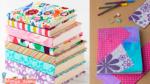 como forrar un libro con papel de regalo