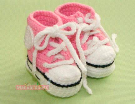 modelos de zapatillas para bebes de lana