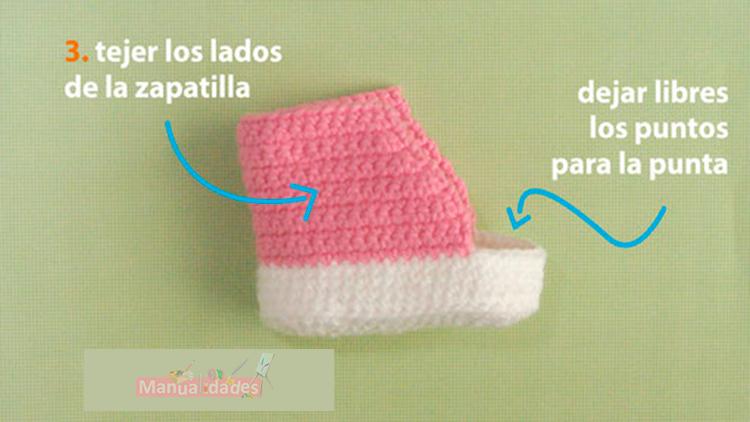 zapatillas hecho con lana