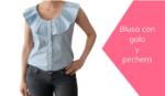 como hacer una blusa con gola