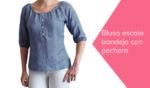 como hacer una blusa escote